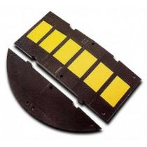 Reductor Velocidad 7cm de altura 3M (negro/amarillo, largo 60 cm, ancho 50cm)