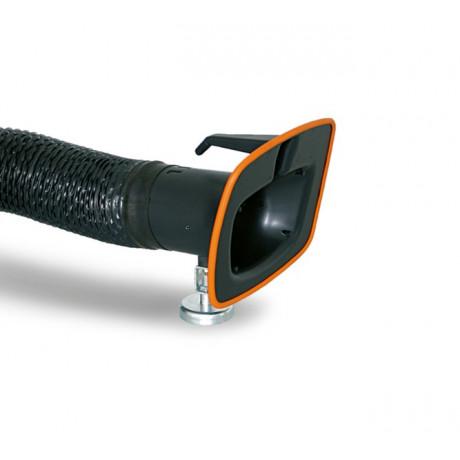 Campana con pie magnético y manguera de Ø150mm longitud 6m (ref DUCT3)