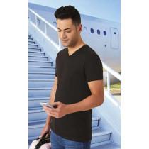Camiseta unisex de manga corta con cuello en pico - Fresh