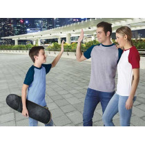Camiseta unisex de manga corta y cuello redondo - Caiman