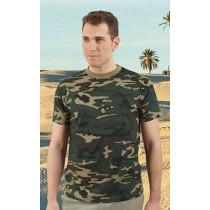 Camiseta unisex de manga corta y cuello redondo - Jungle