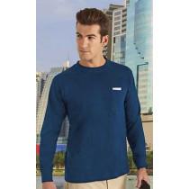 Camiseta unisex de manga larga con puño y bolsillo - Bear