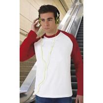 Camiseta unisex de manga larga ranglán y cuello redondo - Break