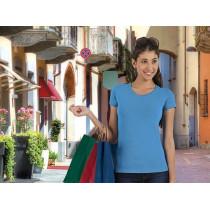 Camiseta de mujer de manga corta y cuello redondo - Tiffany