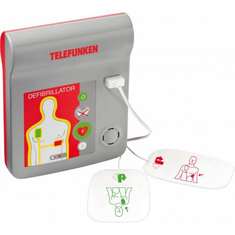 Desfibrilador Telefunken automático HR1 EN 60601-1:2006/60601-1-4:1996