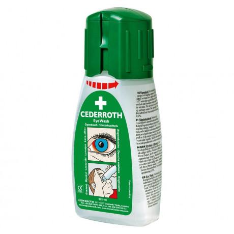 Botella lavaojos de emergencia 235 ml - Solución pH neutro para ácidos y alcalinos - A04