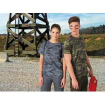 Camiseta unisex de manga corta y cuello redondo - Soldier