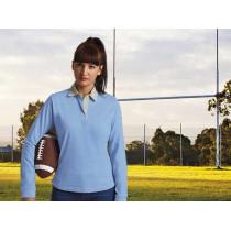 Polo rugby mujer manga larga - Avant