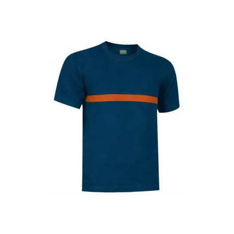 Camiseta bicolor organismos como Bomberos o Protección Civil (ref. EMERGENCY)