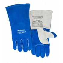 Guante azul Wide Body con pulgar reforzado COMFOflex