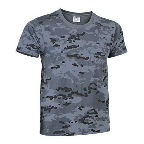 Camiseta con diseño especial de camuflaje pixelado (ref. SOLDADO)