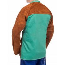 Chaqueta soldador Lava Brown™ con dorso de tela ignífuga