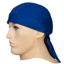 Protector cabeza ignífugo Doo-Rag azul Fire Fox™