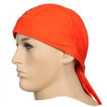Protector cabeza ignífugo Doo-Rag naranja Fire Fox™