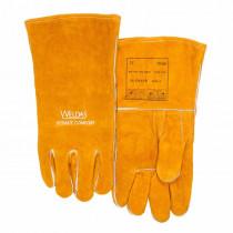Guante con revestimiento de algodón con pulgar recto Golden Brown™
