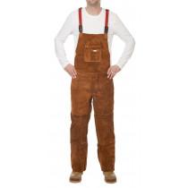 Pantalón Lava Brown ™ con proteccion pecho y dorso cerrado