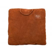 Cojin con asa para soldador, Lava Brown 50 x 50 x 8 cm