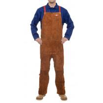 Pantalón Lava Brown ™ proteccion pecho dorso abierto Largo 122 cm