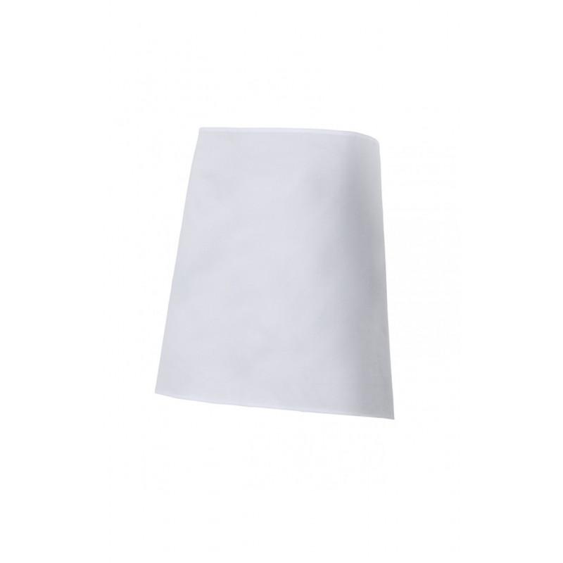 Delantal blanco corto Serie 3 (Talla única)