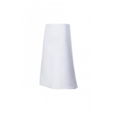 Delantal blanco largo Serie 5 (Talla única)