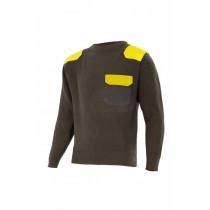 Jersey punto grueso con cuello redondo Serie R100