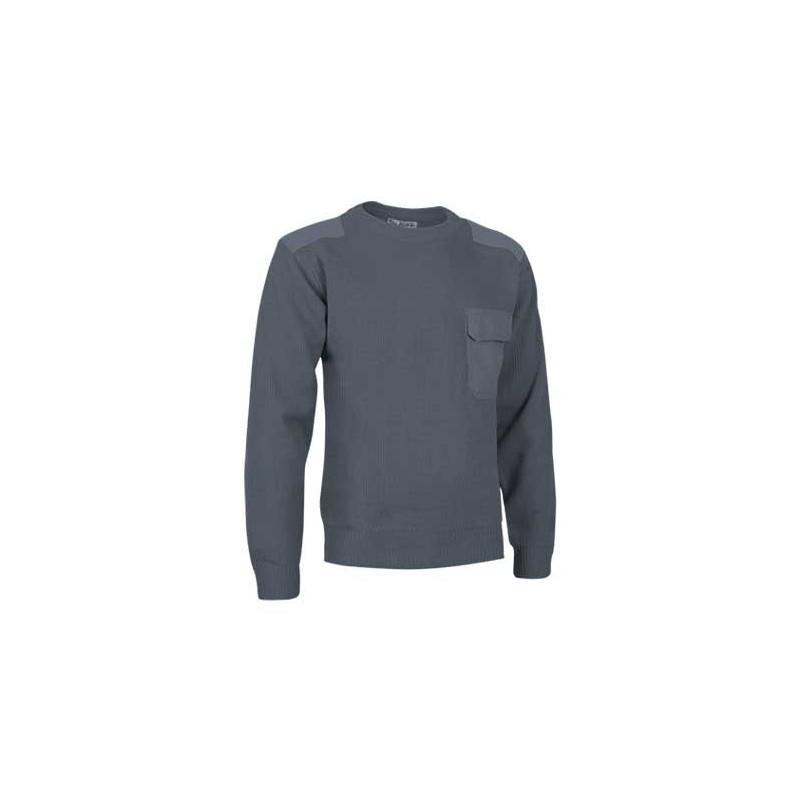 Jersey con cuello redondo, confeccionado en tejido de punto grueso (ref. COMAND)