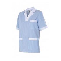 Camisola pijama a rayas de manga corta Serie 585