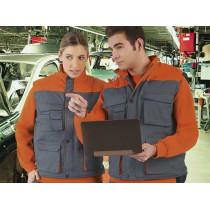 Chaleco multibolsillos en colores combinados prenda laboral de abrigo (ref. RAY3)