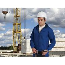 Chaqueta laboral de cuello alto para trabajos a bajas temperaturas (ref. WINTERUSE/B)