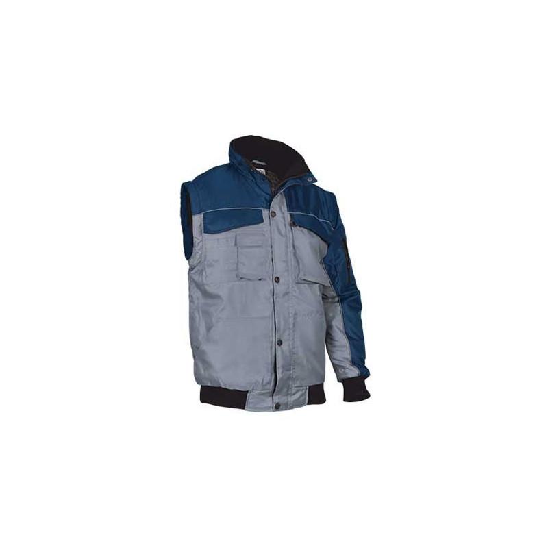 Chaqueta de abrigo 2 en 1 (puede convertirse en chaleco) (ref. SPLIT)