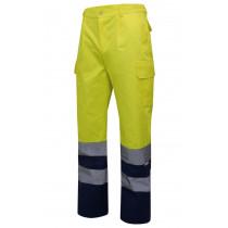 Pantalón bicolor alta visibilidad Serie 303001
