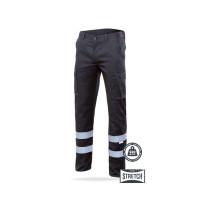 Pantalón con cintas stretch multibolsillos Serie 103014S