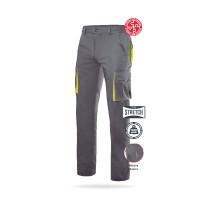 Pantalón stretch bicolor forrado multibolsillos Serie F103008S