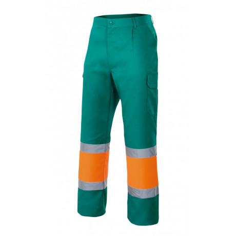 Pantalón bicolor alta visibilidad Serie 157C