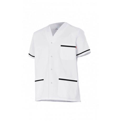 Chaqueta pijama manga corta con botones automáticos Serie P535201