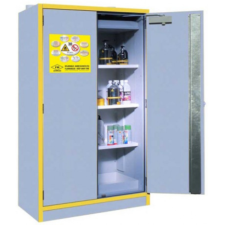 Armario seguridad TIPO 30min. producto inflamable EN 14470-1 & FM 6050 (H 1980 x L 1115 x F 550mm)