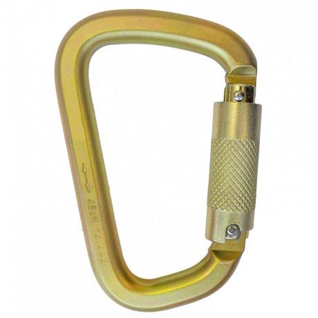 Mosquetón acero triple acción 23mm - EN 362 (ref. AZ989)