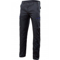 Pantalón negro stretch multibolsillos Serie P103002S