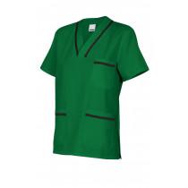 Camisola pijama verde de manga corta Serie B589