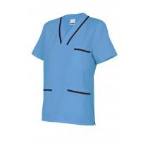 Camisola pijama celeste de manga corta Serie B589