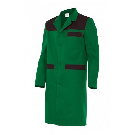 Bata verde caballero con canesus Serie BC700