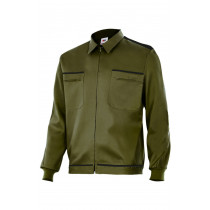 Cazadora verde caza vertice laboral bicolor Serie BI61601