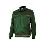 Cazadora verde bosque vertice laboral bicolor Serie BI61601