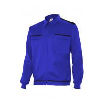 Cazadora azulina vertice laboral bicolor Serie BI61601