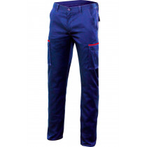 Pantalón azul marino stretch multibolsillos Serie P103002S