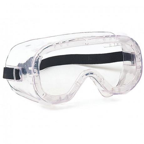 Gafa panorámica de protección con ocular incoloro anti-vaho (ref. 145008)