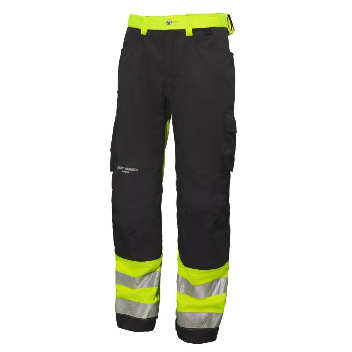Pantalón Hi-Vis de construcción Pant York Const Pant construcción CL 1 HellyHansen 76458 e9060d