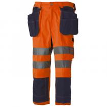 Pantalón Hi-Vis pirata para construcción Bridgewater HellyHansen 76493