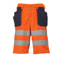 Pantalón shorts Hi-Vis para construcción Bridgewater HellyHansen 76495