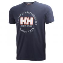 Camiseta de algodón Oslo T-Shirt Helly Hansen 79252
